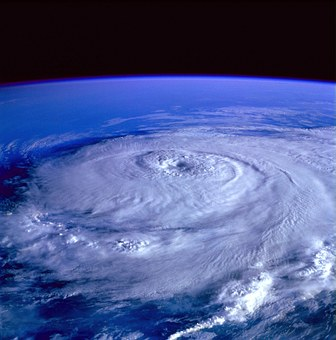 hurricane picture from space