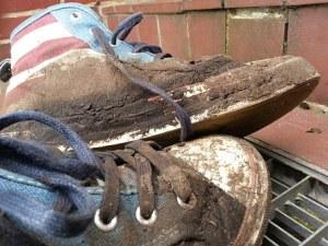muddy kids shoes